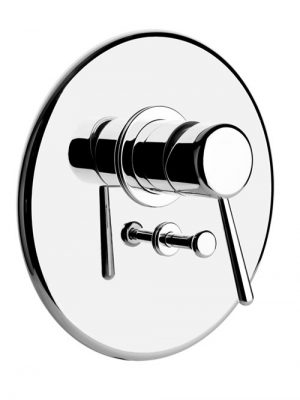 Goccia miscelatore doccia parete due uscite