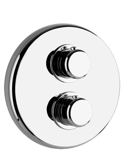 Goccia miscelatore termostatico a due uscite