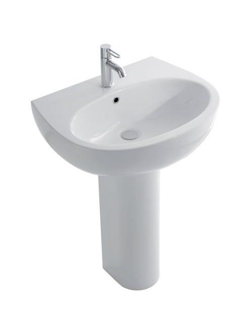 Grace lavabo su colonna 65