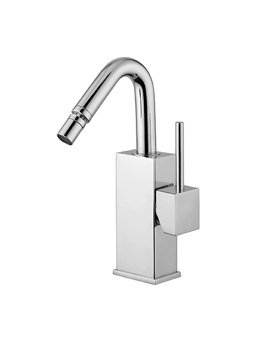 Level miscelatore bidet canna tonda