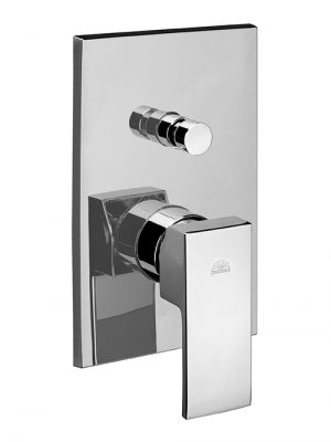 Level miscelatore doccia a parete due uscite