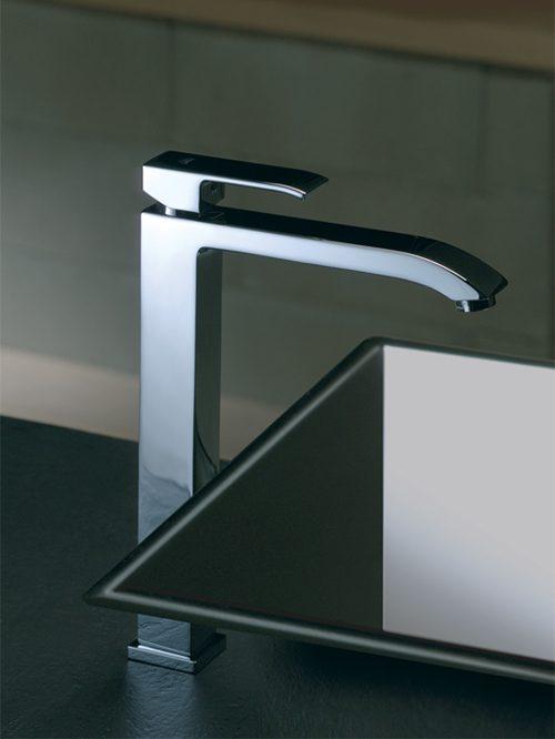 Level miscelatore lavabo alto