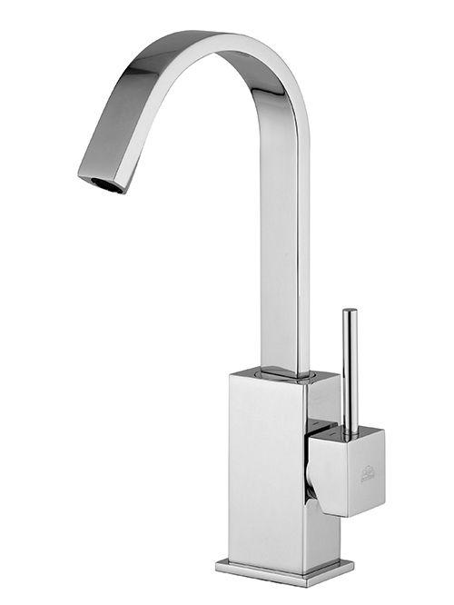 Level miscelatore lavabo canna piatta