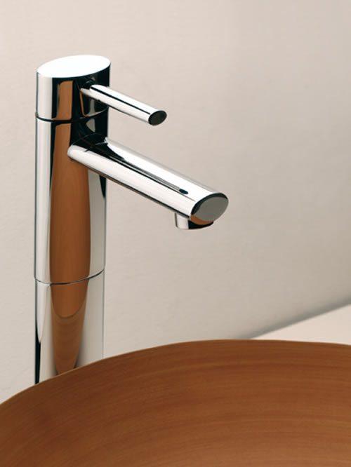 Ovale miscelatore lavabo alto