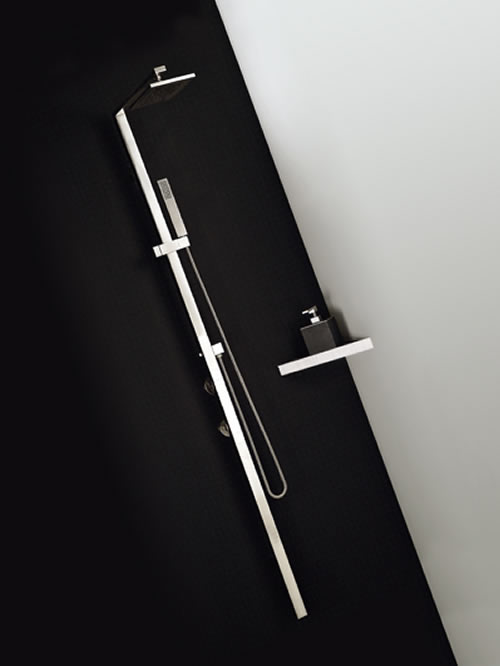 Rettangolo shower colonna doccia termostatica