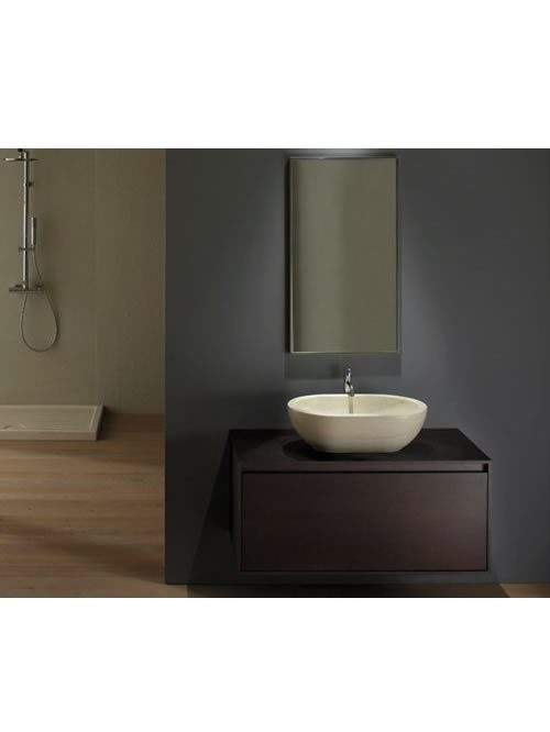 le pietre lavabo travertino 60
