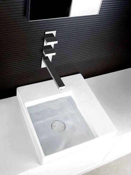 Come scegliere la rubinetteria per il vostro bagno - Miscelatore a parete bagno ...