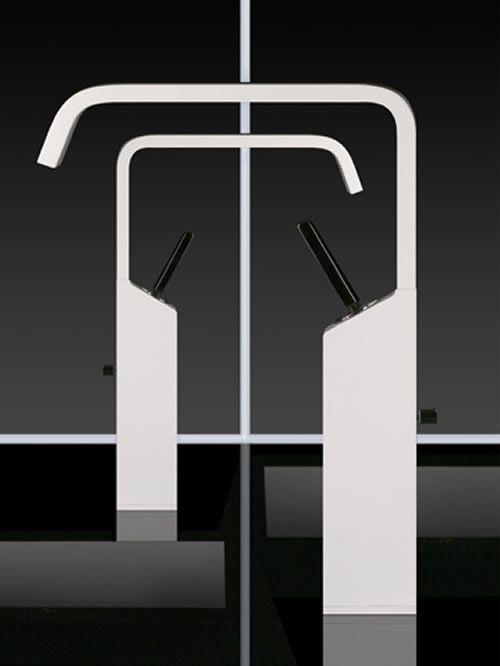 rettangolo xl miscelatore lavabo alto