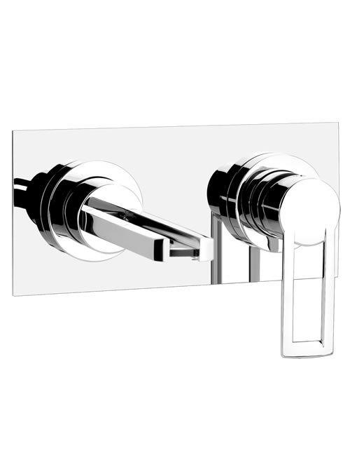 riflessi miscelatore lavabo parete