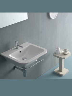 lavabo sospeso stone 55