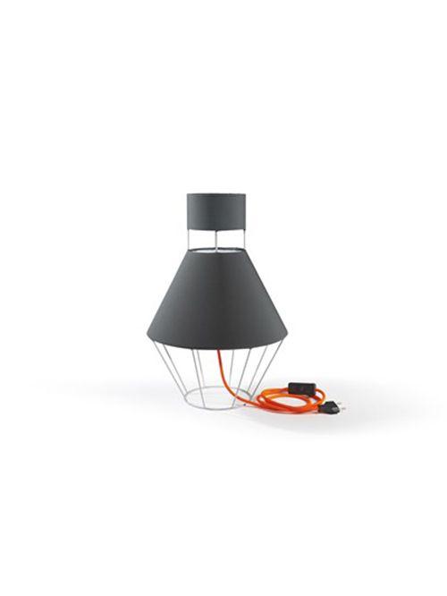 LAMPADA coll. Balloon mm Ø 300xh.445 – IT – grigio luce/ antracite