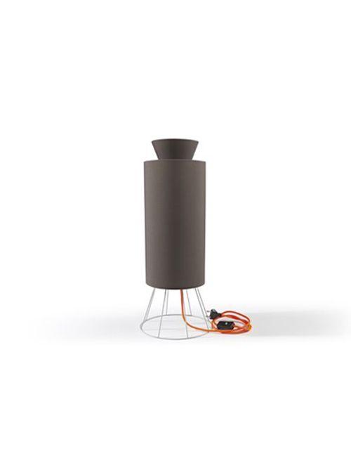 LAMPADA coll. Balloon mm Ø 245xh.605 – IT – grigio luce/ mocca