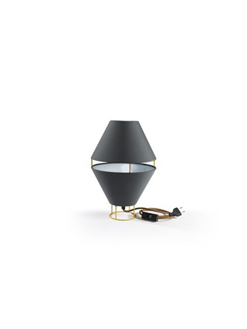LAMPADA coll. Balloon mm Ø 230xh.360 – IT – giallo oro/ antracite