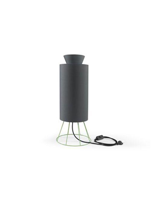 LAMPADA coll. Balloon mm Ø 245xh.605 – IT – verde/ antracite