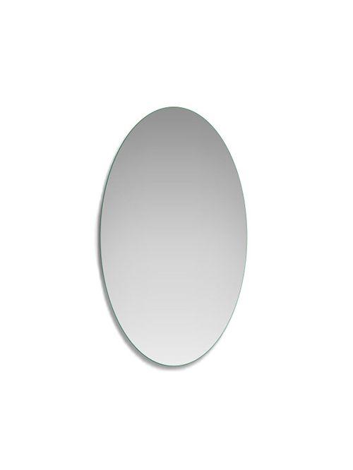 Specchio a filo lucido ovale 65 x 85