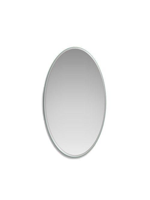 Specchio bisellato ovale 65 x 85