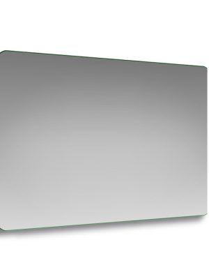 Specchio con angoli stondati rettangolare 100 x 70