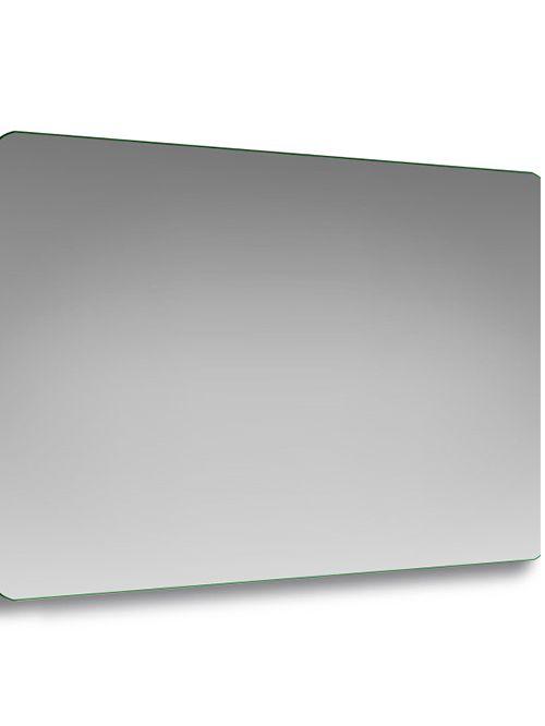 Specchio con angoli stondati rettangolare 120 x 80