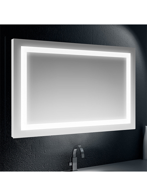 Specchio retroilluminato su tutto il perimetro 100 x 70