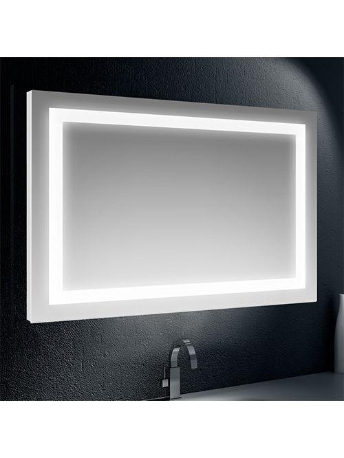 Specchio retroilluminato su tutto il perimetro 135 x 70
