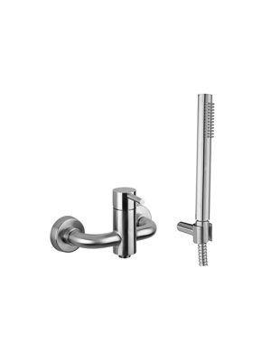 Steel miscelatore doccia esterno