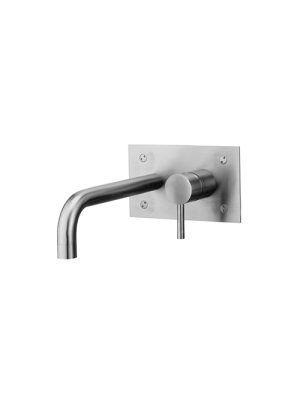 Steel miscelatore incasso lavabo