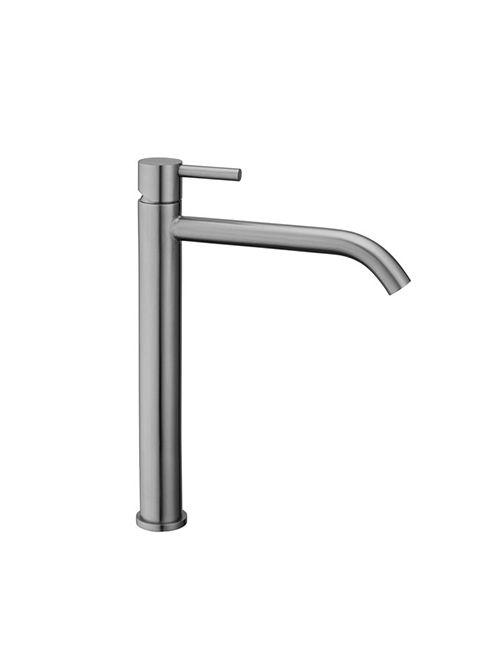 Steel miscelatore lavabo alto