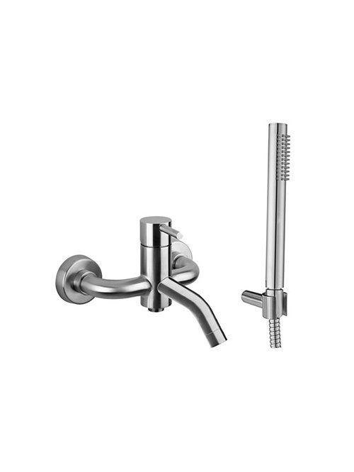 Steel miscelatore vasca doccia