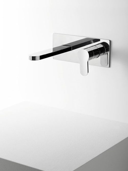 Tab miscelatore lavabo parete