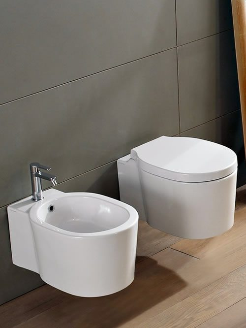 Bucket wc + bidet sospesi art 8812+8813