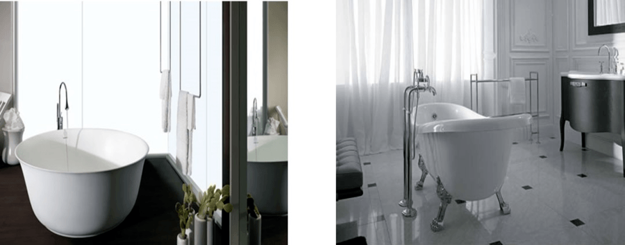 Misure e dimensioni comuni delle vasche da bagno acquablu - Vasche da bagno misure ridotte ...