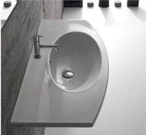4ALL lavabo sospeso 100