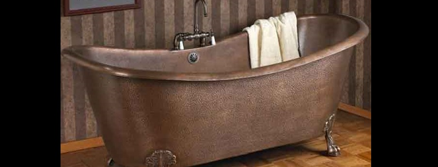 Storia della vasca da bagno inizi usi costumi e varianti sino ai giorni nostri acquablu - Stucco per vasca da bagno ...