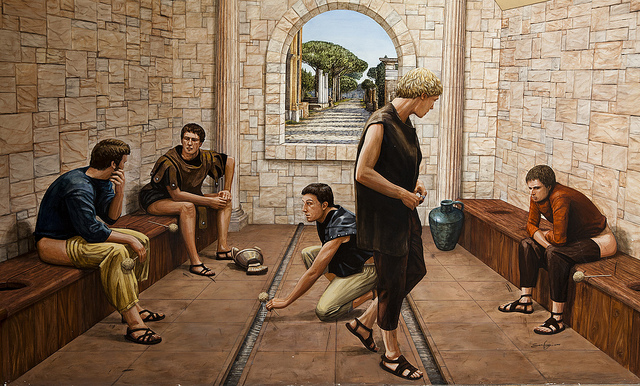 bagno epoca romana