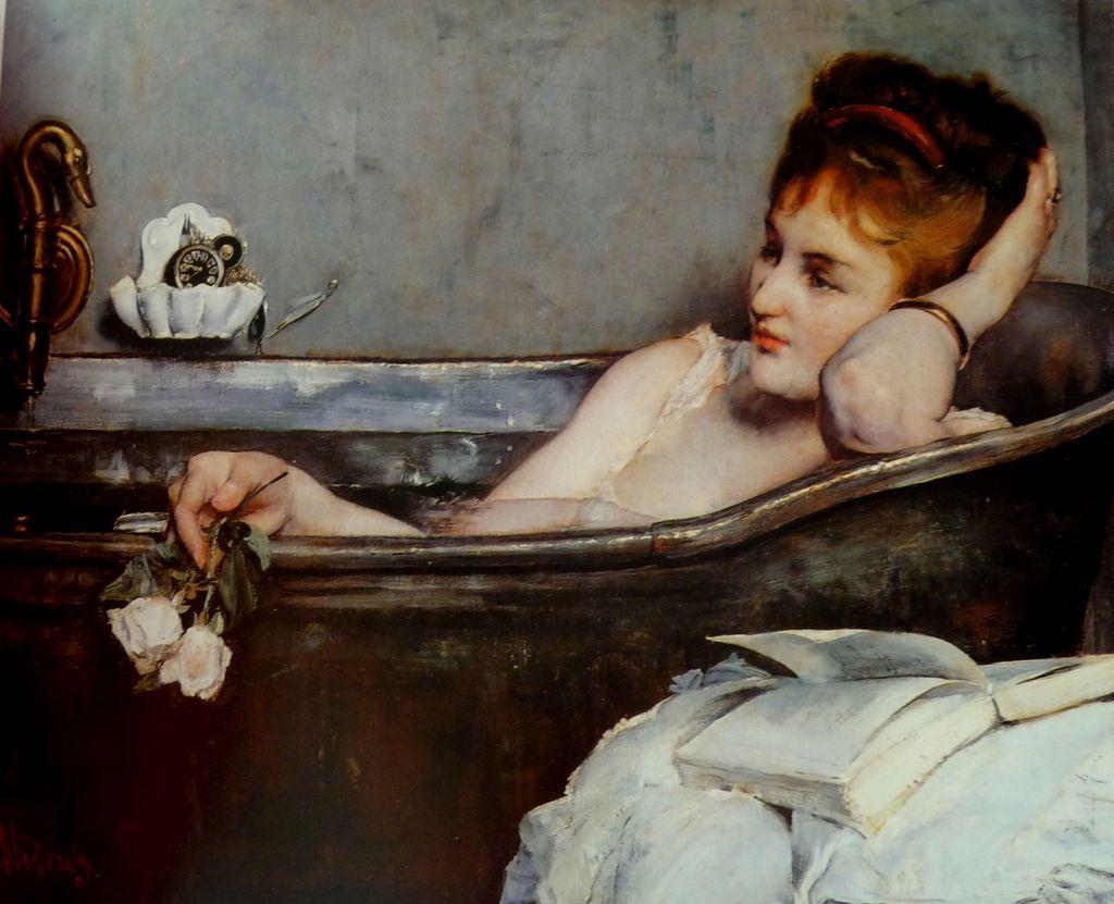 bagno nell'ottocento