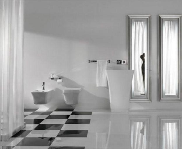 lavabi scarico a parete