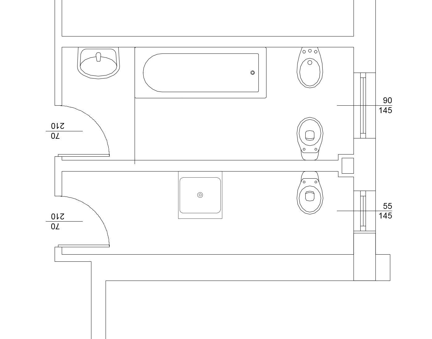 Ristrutturare il bagno: caso pratico