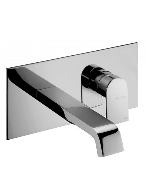 Rubinetterie F.lli Frattini miscelatore lavabo a parete Tolomeo 83034
