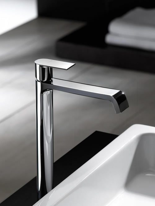 Rubinetterie F.lli Frattini miscelatore lavabo alto Tolomeo 83065